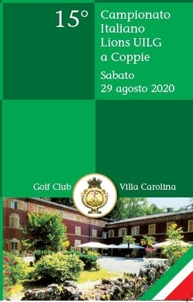 CAMPIONATO ITALIANO A COPPIE