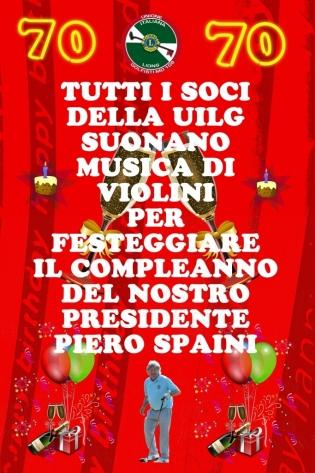 31 ottobre: BUON COMPLEANNO PIERO !!!