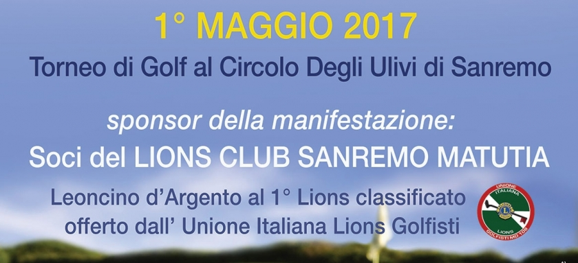 XXIV TORNEO LIONS CLUB SANREMO MATUTIA