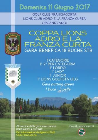 COPPA LIONS CLUB ADRO E LA FRANZA CURTA