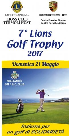 7° Lions Golf Trophy 2017 - L.C. TERMOLI HOST