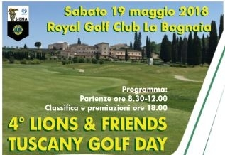 4° LIONS & FRIENDS TUSCANY GOLF DAY