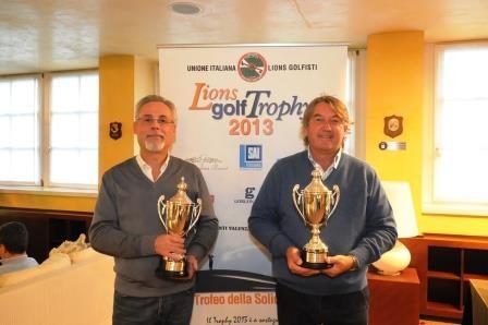 PAOLO DIOSY E GIOVANNI LUONI I NUOVI CAMPIONI ITALIANI UILG A LIGNANO