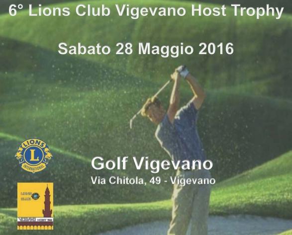 6° LIONS CLUB VIGEVANO HOST TROPHY