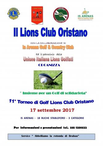 11° Trofeo Lions Club Oristano