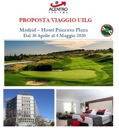 Gita UILG 2020 a MADRID dal 30 aprile al 4 maggio