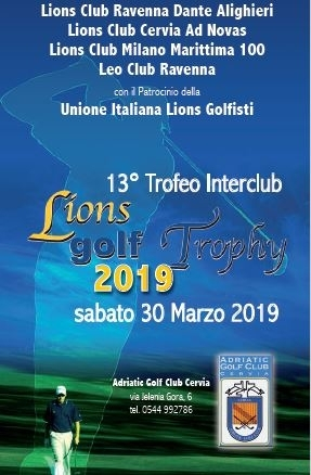 13° TROFEO INTERCLUB 2019