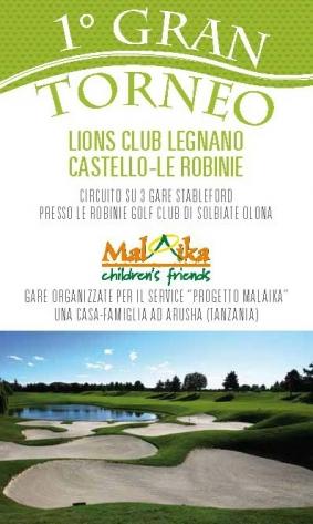 GARE PATROCINATE - 1° Gran Torneo L.C. Legnano Castello-Le Robinie