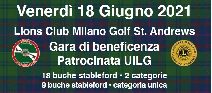 Patrocinata L.C. Milano Golf St. Andrews