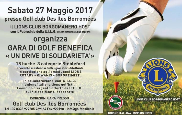 UN DRIVE DI SOLIDARIETA' - L.C. Borgomanero Host