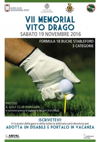 VII Memorial VITO DRAGO - Lions Club Alessandria Host