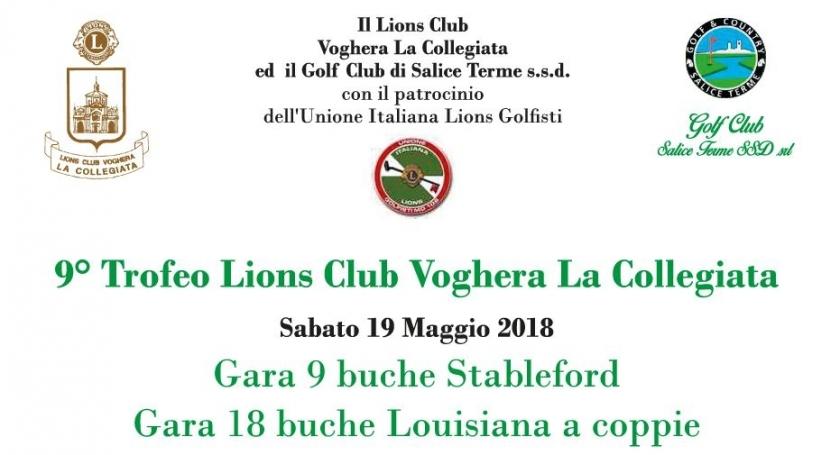 9° TROFEO LIONS CLUB VOGHERA LA COLLEGIATA