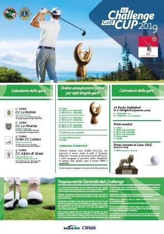 22^ Challenge Golf Cup 2019 - L.C.Legnano Host